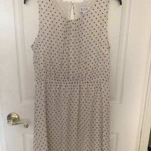 Elle polka dot dress